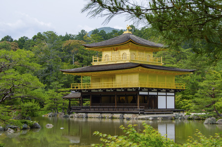Kinkaku-ji Temple in Kyoto, Japan