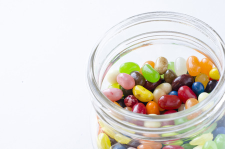 jelly beans: Jelly Beans in a jar