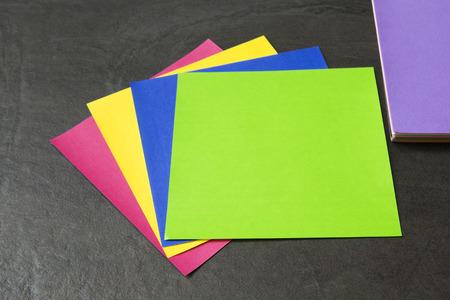 origami paper: Origami Paper Stock Photo