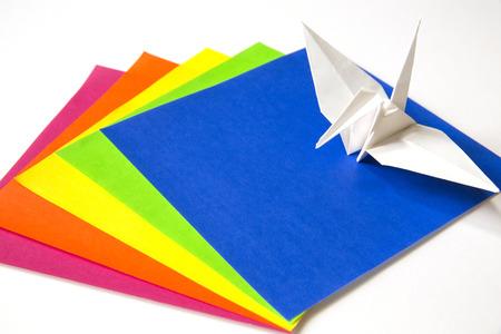 origami paper: Origami paper and Origami crane