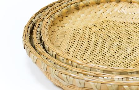 3 種類のサイズで日本の竹バスケット