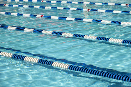 Swimming pool for the meet Stock Photo - 105233197