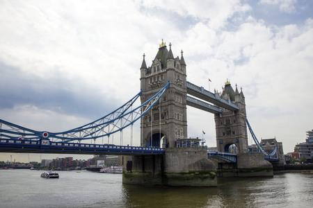 Tower bridge in London, England Stock Photo