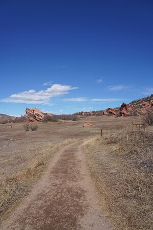 Hiking Trails at South Valley Park in Colorado