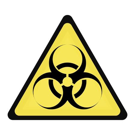 panneaux danger: SIGNE DE DANGER BIOLOGIQUE