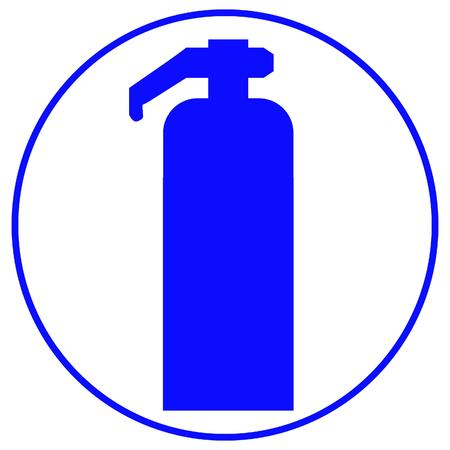 fire extinguisher sign Stock Vector - 3303024
