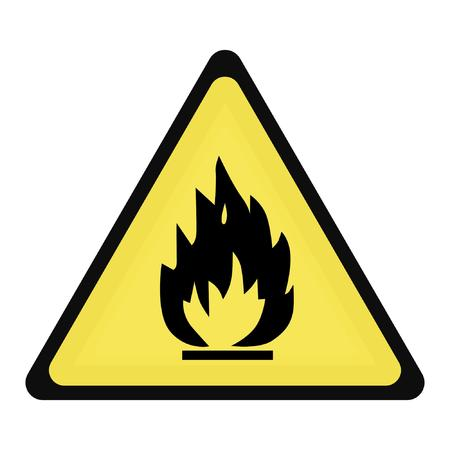 flammable Illustration