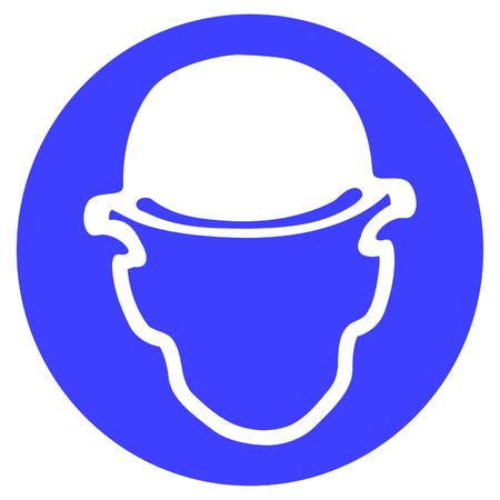 wear safety helmet Stock Vector - 3315017