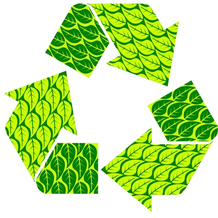 recycle leaf Vector