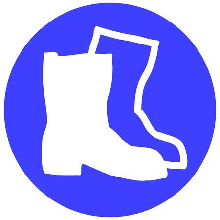 zapatos de seguridad: usar zapatos de seguridad