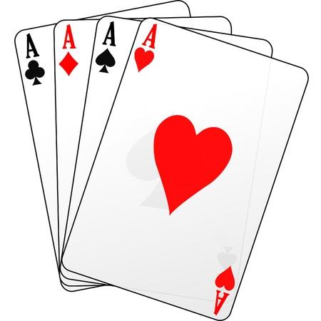 ace of diamonds: four of a kind