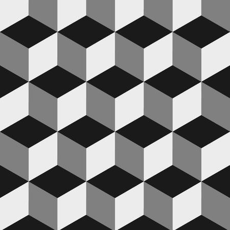 urban art: optical illusion Illustration