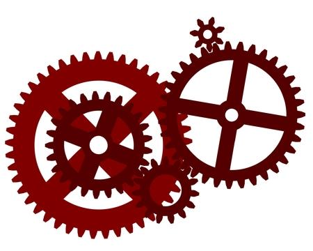 歯車  イラスト・ベクター素材