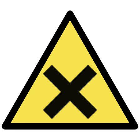 allergenic: irritant  warning sign