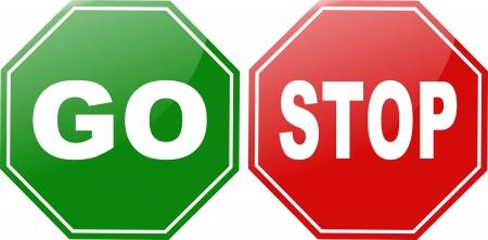 se�ales de precaucion: dejar de ir signo