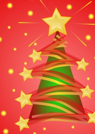 christmas tree green photo