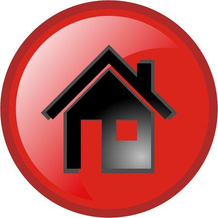 icon home Stock Vector - 3457953