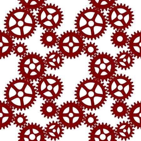 seamless gear mesh Vector