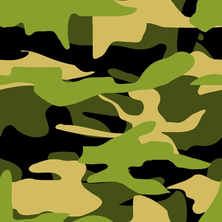 seamless camouflage Stock Vector - 4019231