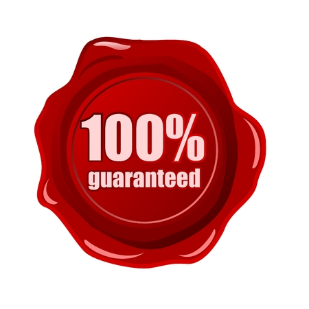 wax seal guaranteed Vector