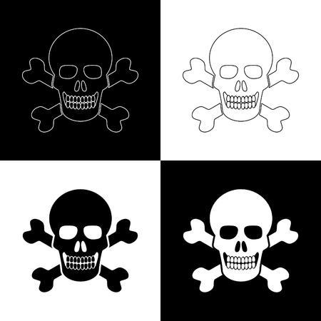 cross bones: poison