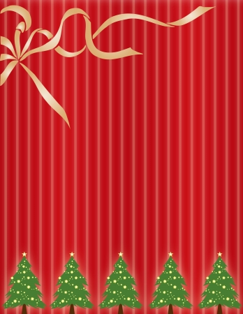 christmas greeting card: a Christmas Card or Christmas wrapping paper
