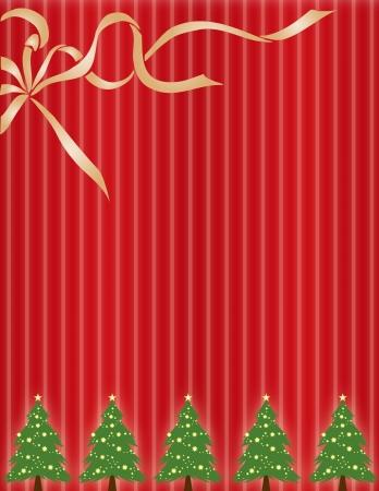 Una felicitación de Navidad o papel de ajuste de Navidad  Foto de archivo - 2006210