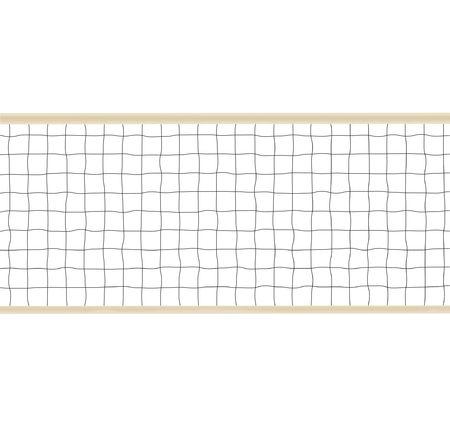 netting: Volleybal of Tennis Netting Illustratie Stockfoto