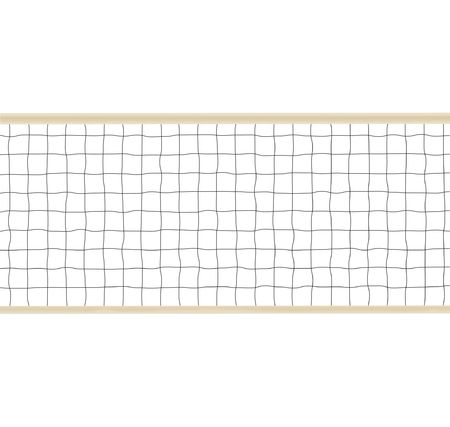 netting: Volleyball or Tennis Netting Illustration Stock Photo