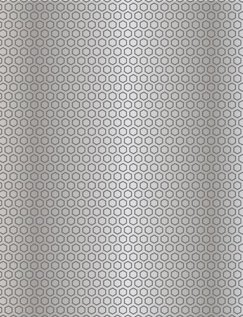 metal wire mesh texture backgrounds with a metallic sheen and hexagon dimples Stock Photo - 2623587