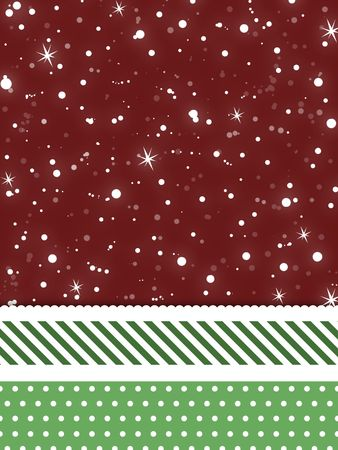 A snowflake and stars Christmas background for use in website wallpaper designs presentations christmas cards invitations and holiday-themed brochure backgrounds. Stock Photo - 3709922