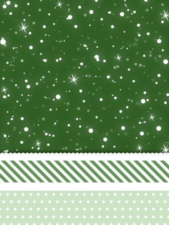 A snowflake and stars Christmas background for use in website wallpaper designs presentations christmas cards invitations and holiday-themed brochure backgrounds. Stock Photo - 3709920