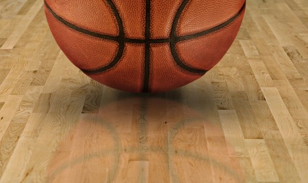 march: Basketball Background Stock Photo