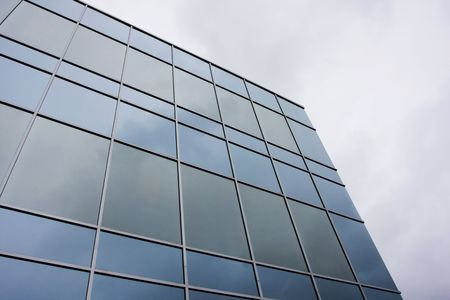 A Modern office building background photo