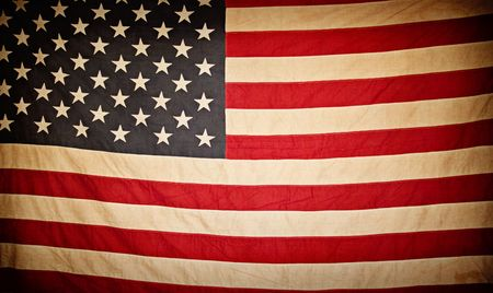 American Flag Background Stock Photo - 5537822