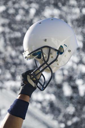 pigskin: Football Helmet Grunge
