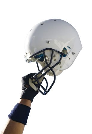 Football Helmet with Clipping Path photo
