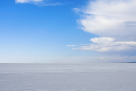 salt lake city: Bonneville Salt Flats