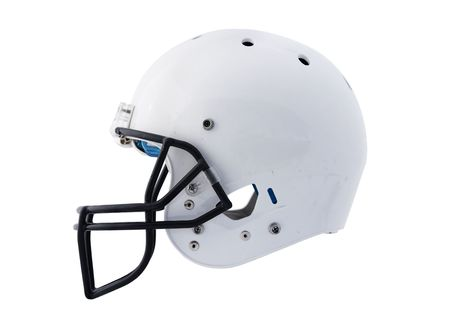 pigskin: Football Helmet Stock Photo