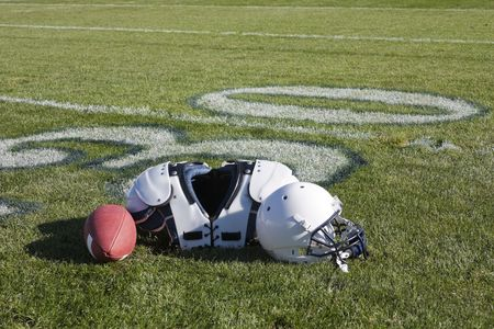 Football Equipment Stock Photo - 6152346