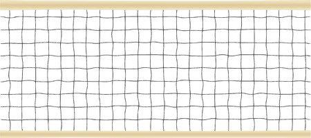 netting: Tennis or Volleyball Net Vector illustration