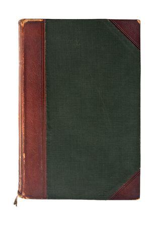 古い、アンティークの本が、白い背景で隔離 写真素材