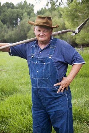 Old Farmer Portrait