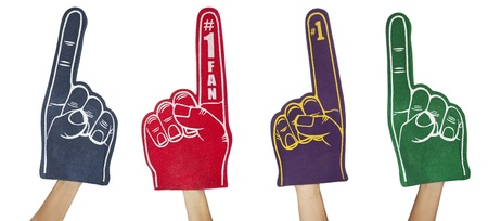 fan: Fan Foam Fingers