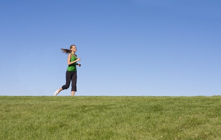female jogger: Incidente femenina en el horizonte