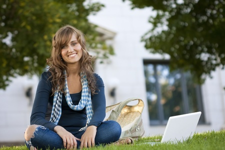 Young Female Student Portrait Stock Photo - 9775109