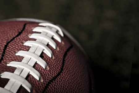 football teams: Football Close up Stock Photo