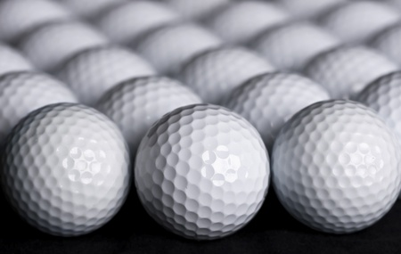 Golf Balls Background photo