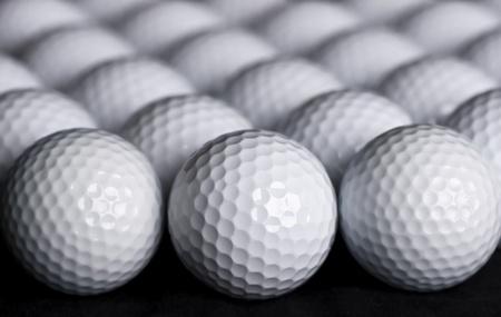 golf balls: Golf Balls Background Stock Photo