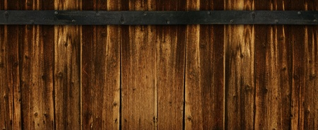 Extra Wide Dark Wood Background photo